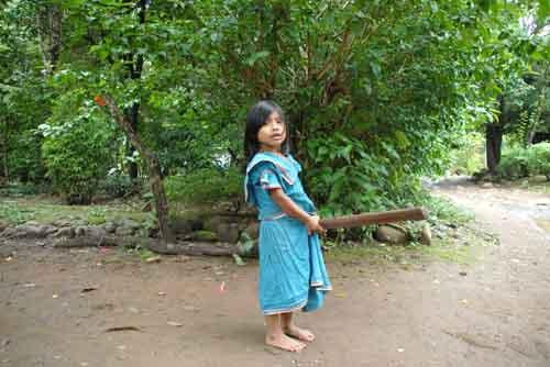 Enfants Indiens Panama