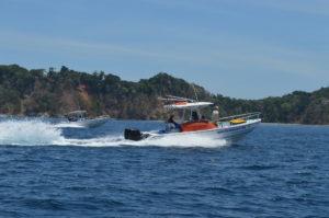 En route pour les îles
